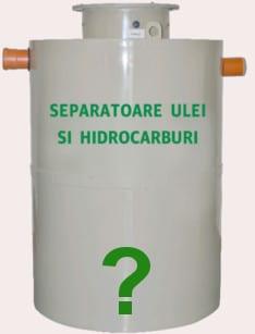 separator hidrocarburi pe comanda